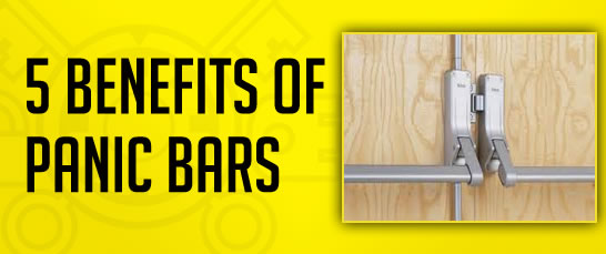 Benefits of panic bars