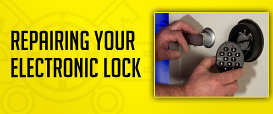 electronic lock repair