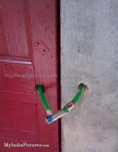 Worst door lock ideas