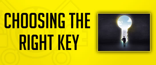 Choosing The Right Key