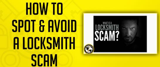 Avoid a Locksmith Scam