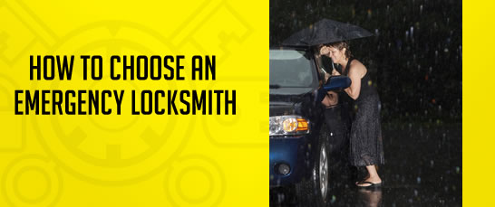 How to choose an emergency locksmith