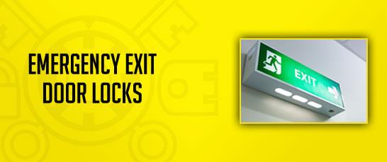 Emergency Exit Door Locks