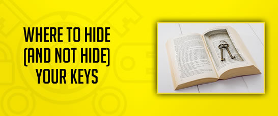 Where to Hide and Not Hide Keys