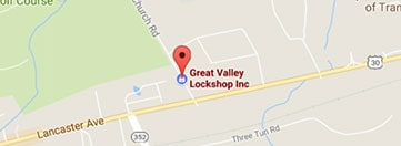 Great Valley Lockshop Location