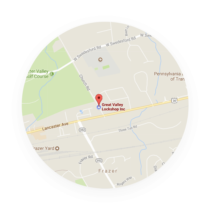 Great Valley Lockshop Map Location