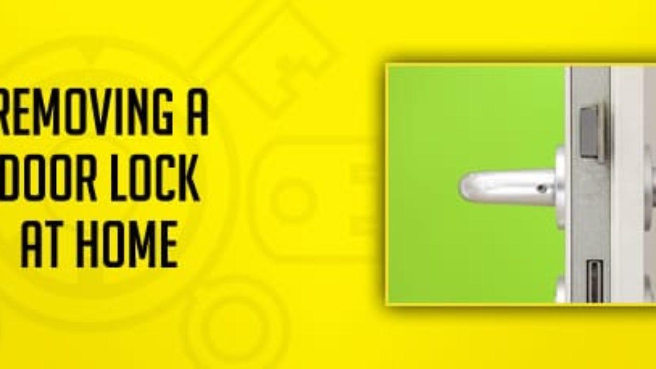 How To Remove a Door Lock at Home | Great Valley Lockshop ... Design House Locks Rekey on keyless entry lock, security lock, open lock, door lock, safe lock, kwikset lock, schlage lock, 95 explorer rear hatch lock, deadbolt lock, snap gun lock, home lock,